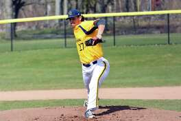 Quinnipiac's Tyler Poulin, a junior college transfer in his first season with the Bobcats, has a 2.68 ERA and 50 strikeouts in 43 innings.