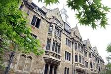 Yale University's campus.