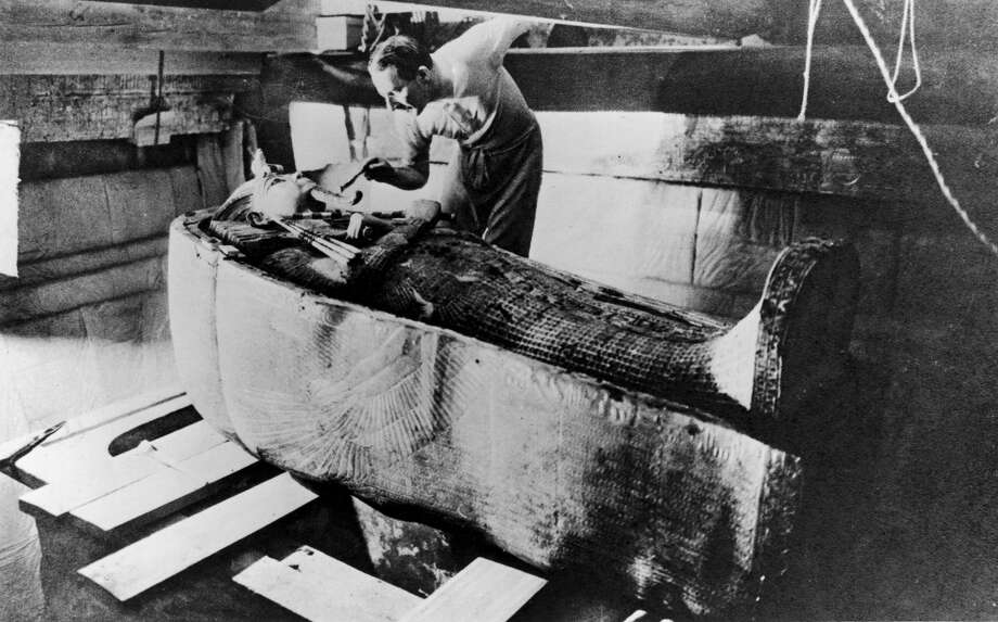 A cursed mummy on board the Titanic led to its downfall  If this story sounds too good to be true, it's because it certainly is. Nonetheless, the myth of the cursed Titanic mummy has long taken hold in the public imagination. According to legend, the British Museum was having trouble with their newly acquired mummy, the Princess of Amen-Ra. The coffin was producing eerie sounds and causing a rash of deaths around it. So the museum sold the princess to an American archaeologist, who arranged to take the mummy back home on — you guessed it — the Titanic. The mummy took its final revenge on the ship, bringing it down with its spooky magic. Of course, there are no records of a mummy being transported on the ship. Nor are there records of a mummy of Amen-Ra residing at the British Museum. Photo: Time Life Pictures/The LIFE Picture Collection/Getty Images