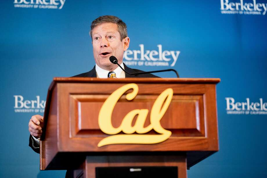 New Cal athletic director Jim Knowlton has been doing a lot of listening in his first three months on the job. Photo: Noah Berger / Special To The Chronicle
