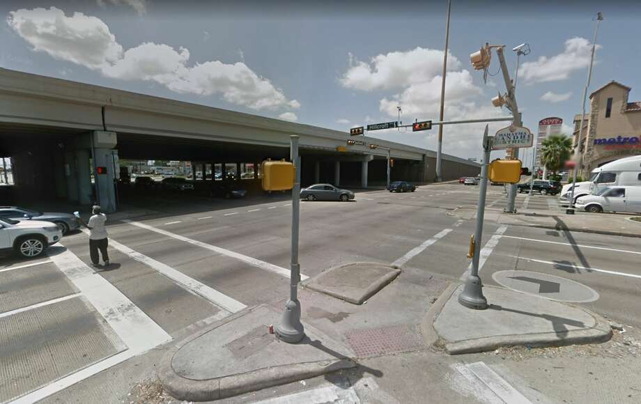 Detectives are asking for the public's help in finding two drivers who separately struck and killed a motorcyclist before fleeing the scene in southwest Houston. Photo: Google Maps