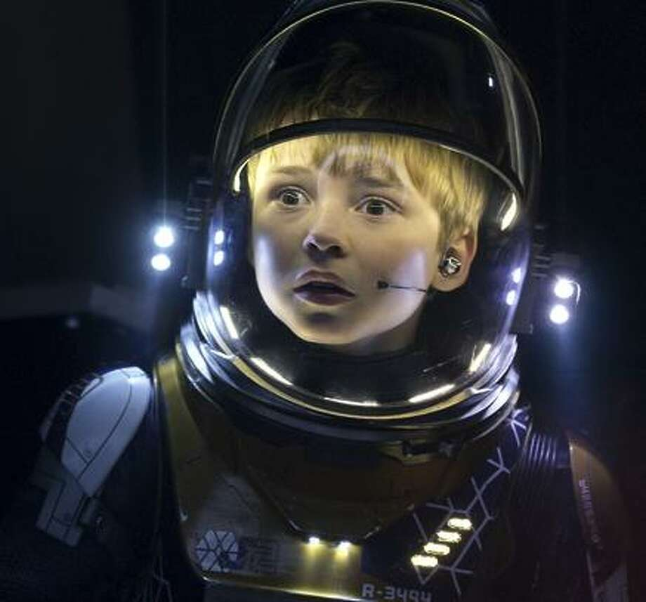 "Actor Max Jenkins in the remake of ""Lost in Space."" Photo: Netflix / 10-1402424-2254210-zoomed"