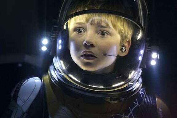"Actor Max Jenkins in the remake of ""Lost in Space."""