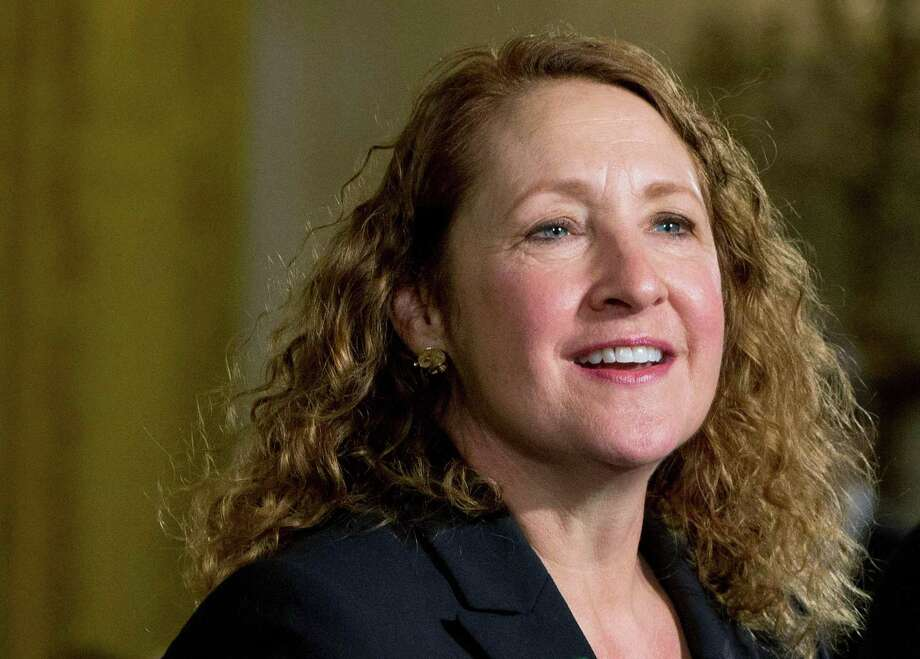 Rep. Elizabeth Esty, D-Conn., announced on April 2 that she will not seek re-election amid calls for her resignation over her handling of the firing of a former chief of staff accused of harassment, threats and violence against female staffers in her congressional office. Photo: Jacquelyn Martin / Associated Press / Copyright 2018 The Associated Press. All rights reserved.
