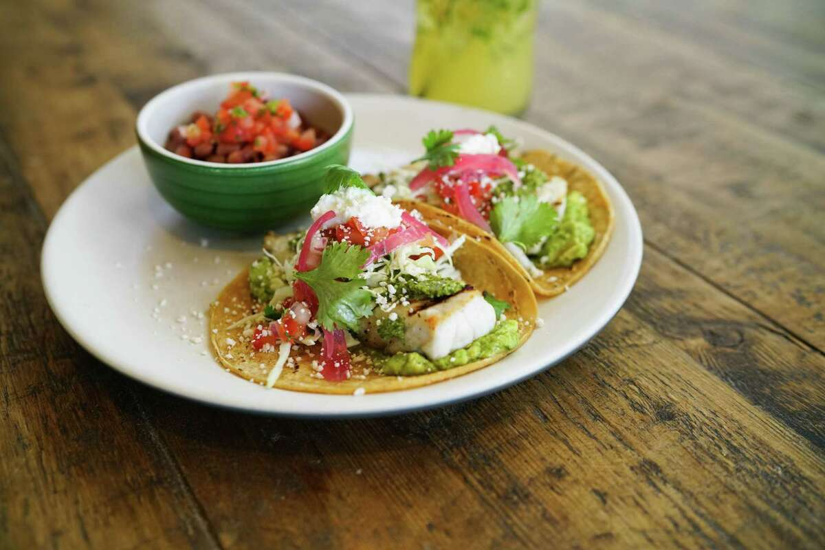 True Food Kitchen will open its second location in the Houston area on May 16 at Market Street, the Woodlands. The first opened in Houston in 2014. Shown: Grilled fish tacos.
