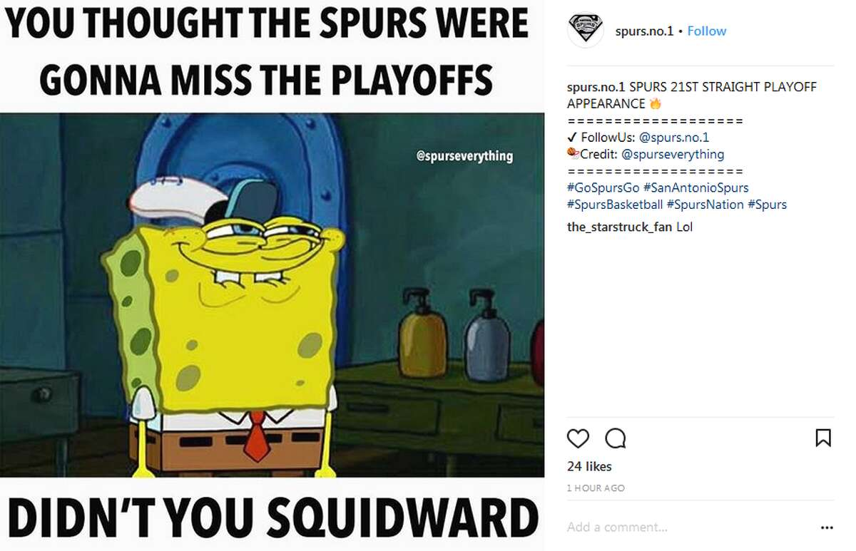@spurs.no.1: SPURS 21ST STRAIGHT PLAYOFF APPEARANCE