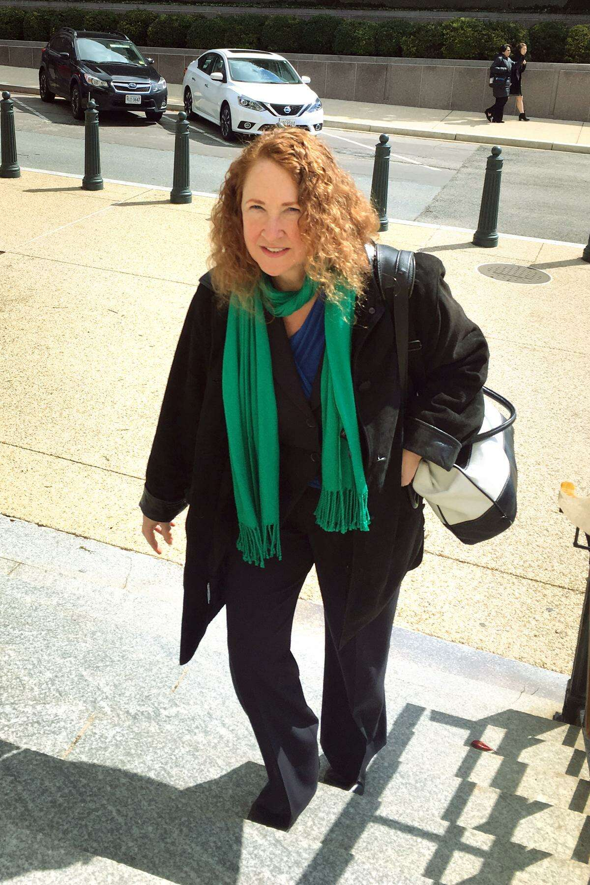 U.S. Rep. Elizabeth Esty returned to work in Washington D.C. Tuesday after a self-imposed two-week exile in the wake of abruptly withdrawing from her 2018 re-election bid. It is Esty?'s first full day back at work after acknowledging serious errors in judgment in handling the firing of her former chief of staff.