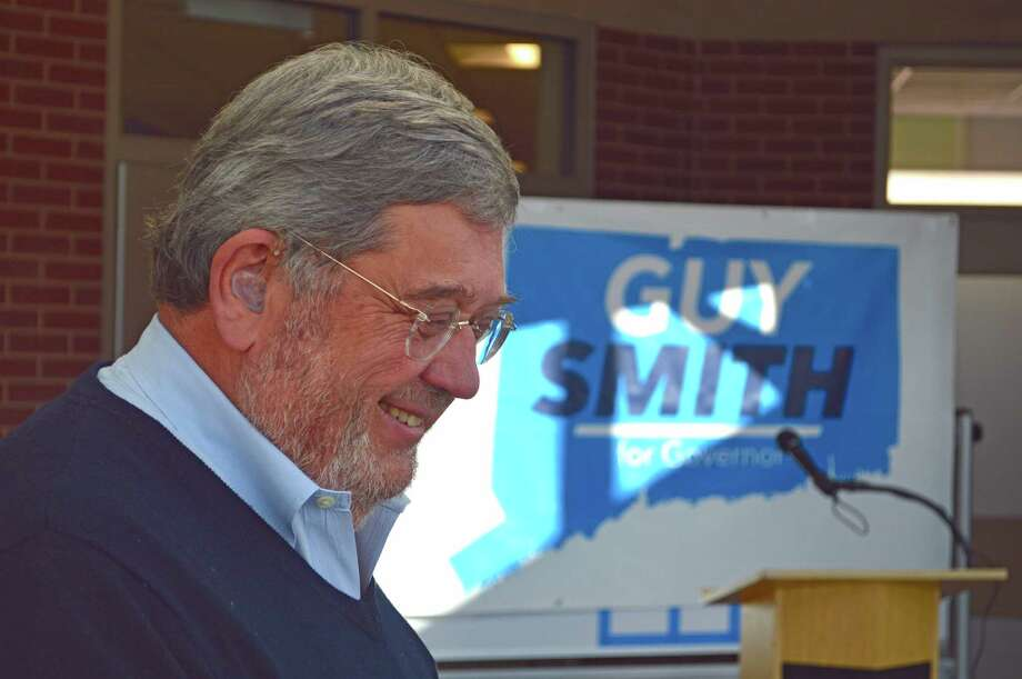 Guy Smith, a retired Greenwich business executive and one-time adviser to Bill and Hillary Clinton, is seeking the Democratic nomination for governor. Photo: Contributed Photo /