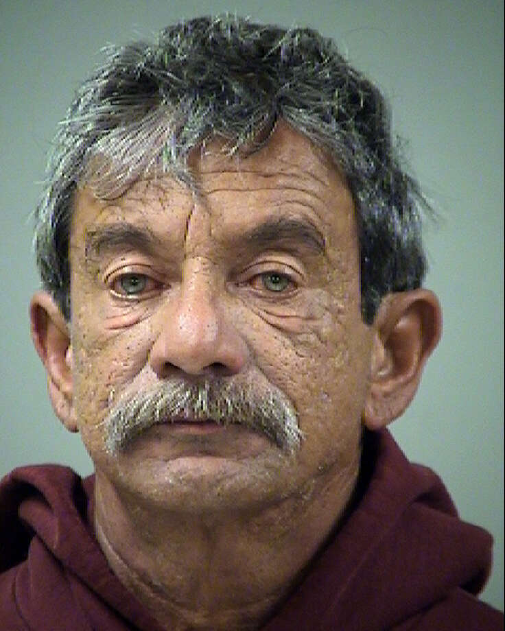 Antonio Juan Alvarado, 57, is accused of aggravated assault with a deadly weapon.