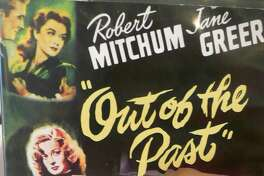 """Bridgeport native Robert Mitchum found one of his signature roles as a man searching for a former employer's missing girlfriend in the 1947 film noir classic, """"Out of the Past."""""""