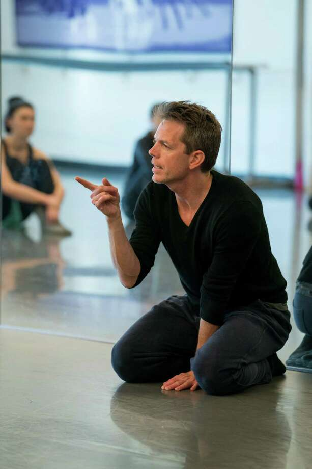 Choreographer Dominic Walsh rehearses with artists of MetDance in the company's Midtown studios, preparing for the premiere of a new 30-minute work that debuts April 13-14 at Hobby Center. Photo: Ben Doyle / Ben Doyle / Photo by Ben Doyle