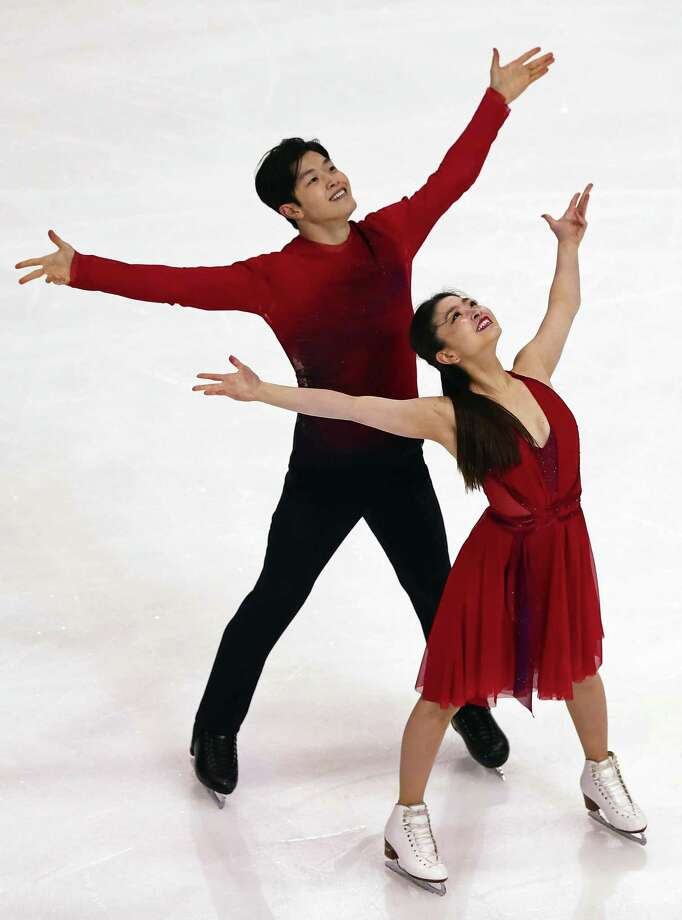 "Maia and Alex Shibutani also perform in the ""Stars on Ice"" show. Photo: Stars On Ice / Contributed Photo / 2017 Getty Images"