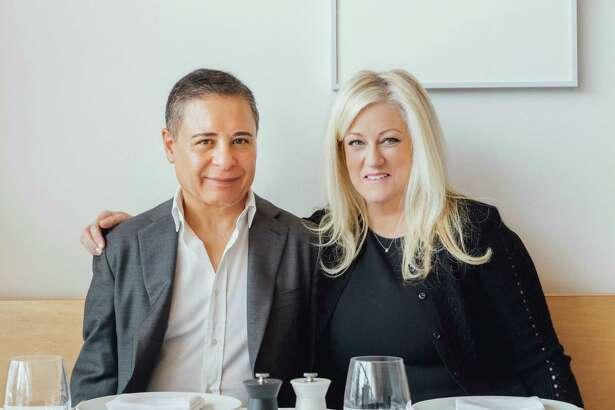The owners of Rebeccas, Reza Khorshidi and his wife, Rebecca Khorshidi, March 28, 2018.