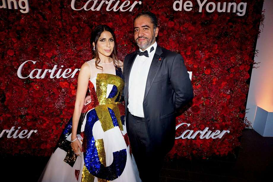 Sobia and Nadir Shaikh at the Mid-Winter Gala on April 6, 2018. Photo: Catherine Bigelow / Special To The Chronicle