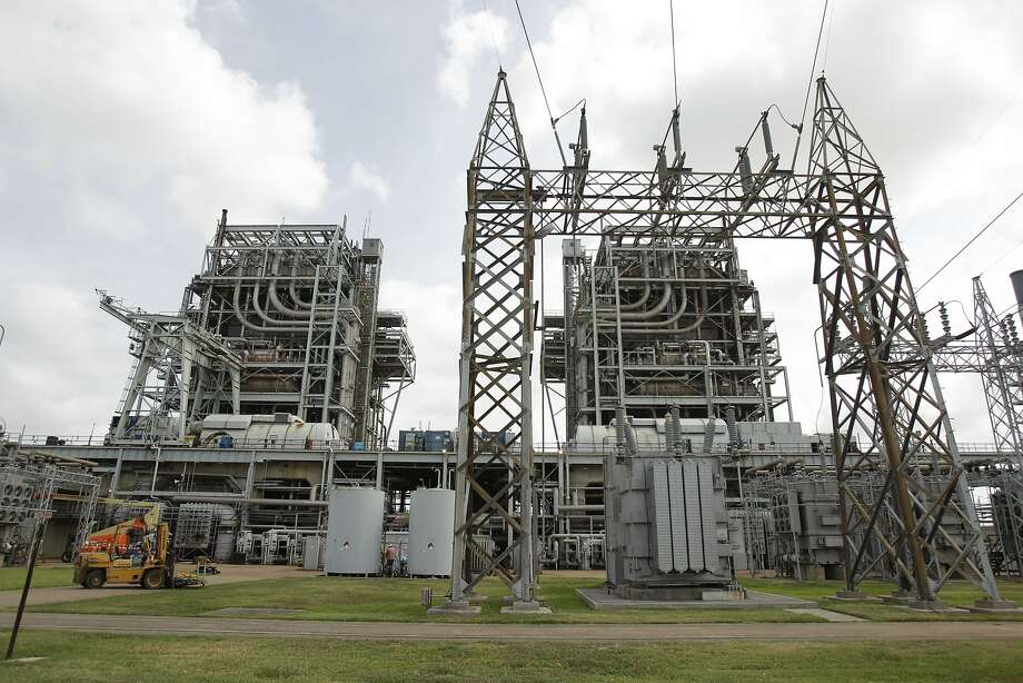 NGR Energy is retiring the S.R. Bertron power plant.  Photo: Melissa Phillip, Houston Chronicle