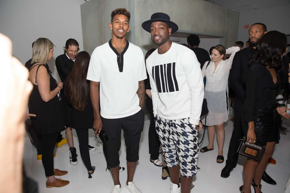Nick Young Always big into fashion, Swaggy P has his own streetwear line.