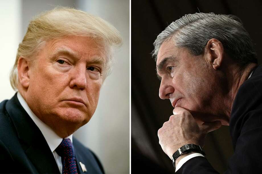 President Trump and special counsel Robert S. Mueller III. Impending reports by Mueller on his investigation of Trump on possible collusion and obstruction of justice might get blocked from public release in a GOP Congress. Photo: The Washington Post /The Washington Post /Getty Images / 2017 The Washington Post