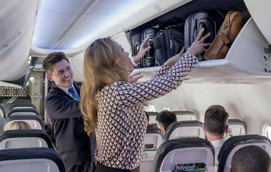 Alaska's new basic economy Saver fares allow access to overhead bins, but only at last minute. (Image: Alaska Airlines)