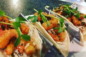Chef Charlie Ayers has been experimenting with New Wave Foods' shrimp at his Palo Alto restaurant Calafia, offering the product in a number of dishes currently being served.