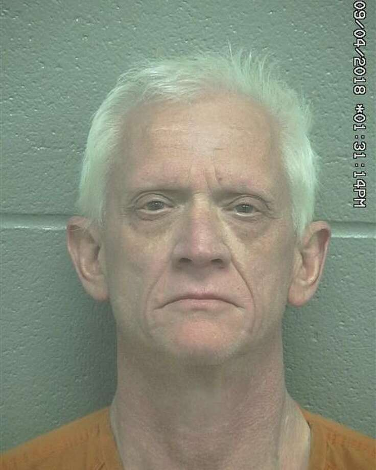 Gregory Allen Knapp, 55, was arrested April 8 after allegedly assaulting a female, according to court documents. Photo: Midland County Sheriff's Office