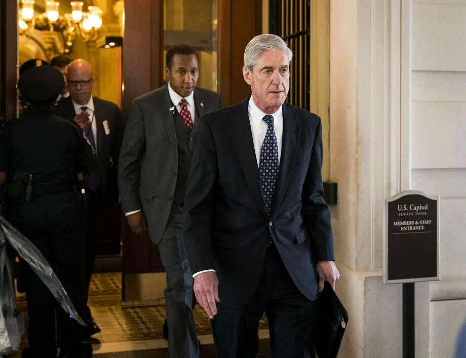 FILE — Robert Mueller, the special counsel investigating Russian interference in the 2016 election, on Capitol Hill in Washington, June 21, 2017. In early December amid reports that Mueller's team had subpoenaed information about President Donald Trump's dealings with Deutsche Bank, Trump strongly considered firing Mueller, several sources close to the president said. (Doug Mills/The New York Times) Photo: DOUG MILLS, NYT