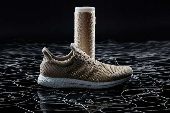 Adidas is developing a Biosteel running shoe whose upper is woven out of AMSilk's cultured spider silk. The shoe is not yet ready for sale.