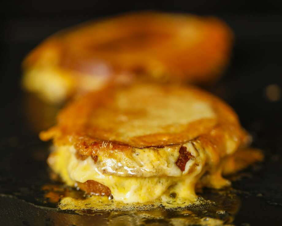 A Chronicle favorite grilled cheese sandwich. Photo: Russell Yip / The Chronicle