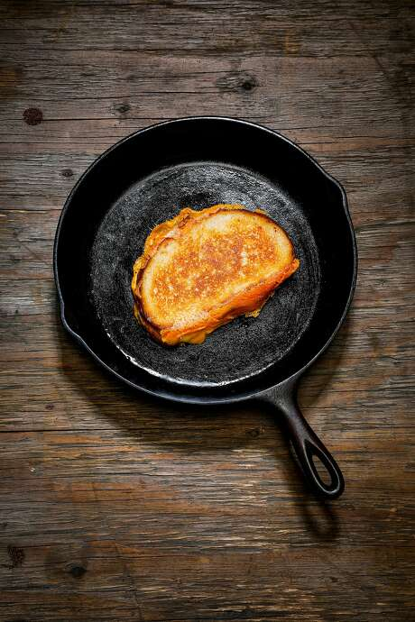 The Chronicle Test Kitchen's Perfect Grilled Cheese. Photo: Russell Yip / The Chronicle