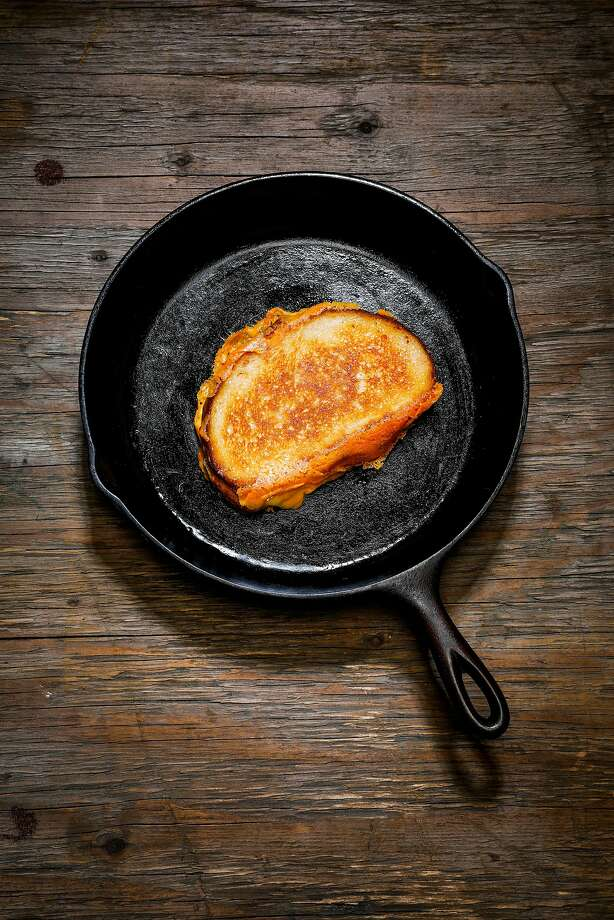 A Grilled Cheese sandwich is seen in a cast iron pan on Wednesday, April 4, 2018 in San Francisco, Calif. Photo: Russell Yip / The Chronicle