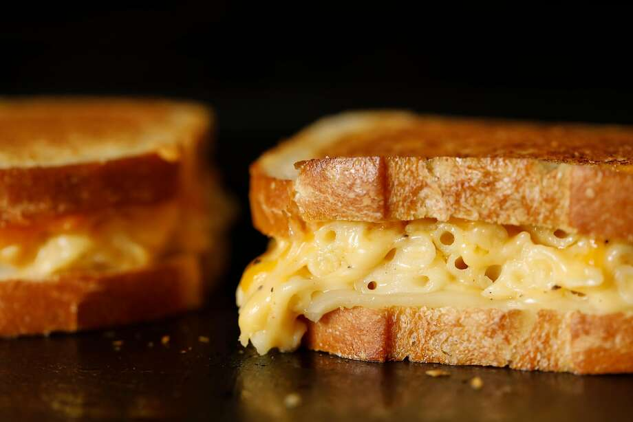 FILE-- Mac and Cheese Grilled Cheese, an American Grilled Cheese Kitchen recipe, is seen on Wednesday, April 4, 2018 in San Francisco. The American Grilled Cheese Kitchen has announced they will close their FiDi location at 799 Battery St. in Jackson Square. Their other location in San Francisco at 1 S Park St. will remain open. Photo: Russell Yip / The Chronicle