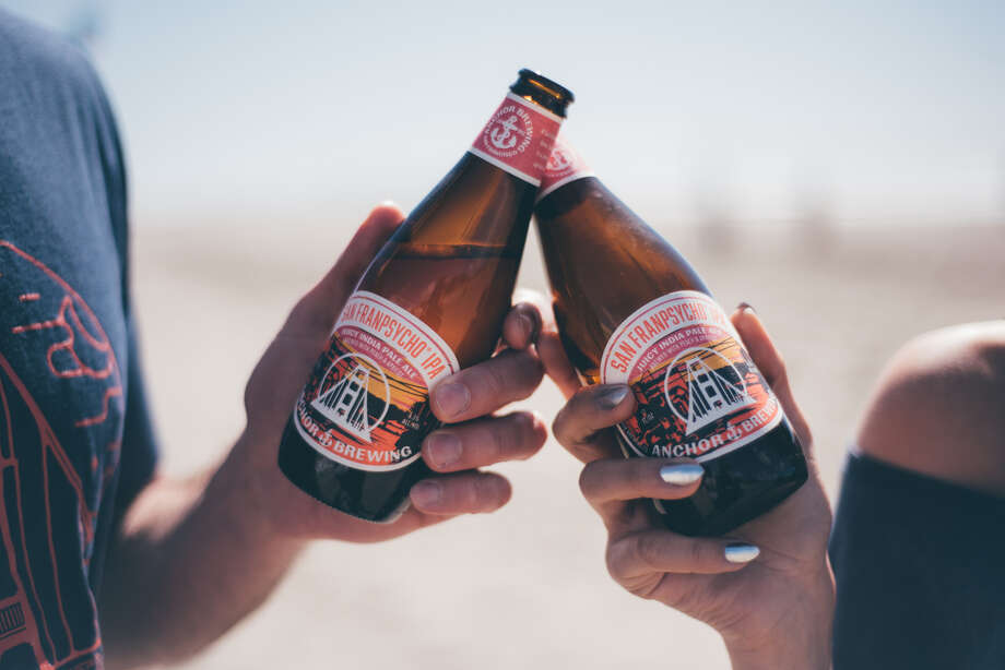 Anchor Brewing debuted its collaboration beer with San Franpsycho. Photo: Courtesy Anchor Brewing
