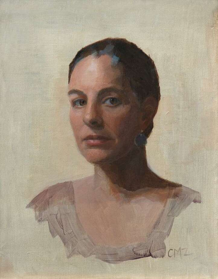"Minor Memorial Library in Roxbury will open an exhibit of art, ""Pulled into Light,"" with a reception April 14 from 2 to 4 p.m. The exhibit, which will run through May 26, will feature figure studies and still life paintings by Cynthia Zinser. Above is ""Self Portrait."" For more information, call the South Street library at 860-350-2181. Photo: Contributed Photo / Contributed Photo / The News-Times Contributed"
