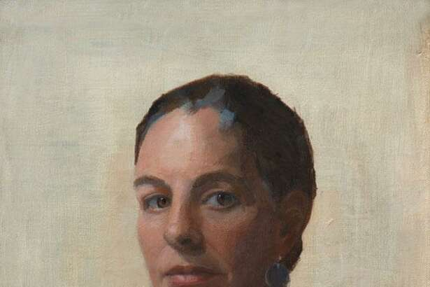"""Minor Memorial Library in Roxbury will open an exhibit of art, """"Pulled into Light,"""" with a reception April 14 from 2 to 4 p.m. The exhibit, which will run through May 26, will feature figure studies and still life paintings by Cynthia Zinser. Above is """"Self Portrait."""" For more information, call the South Street library at 860-350-2181."""