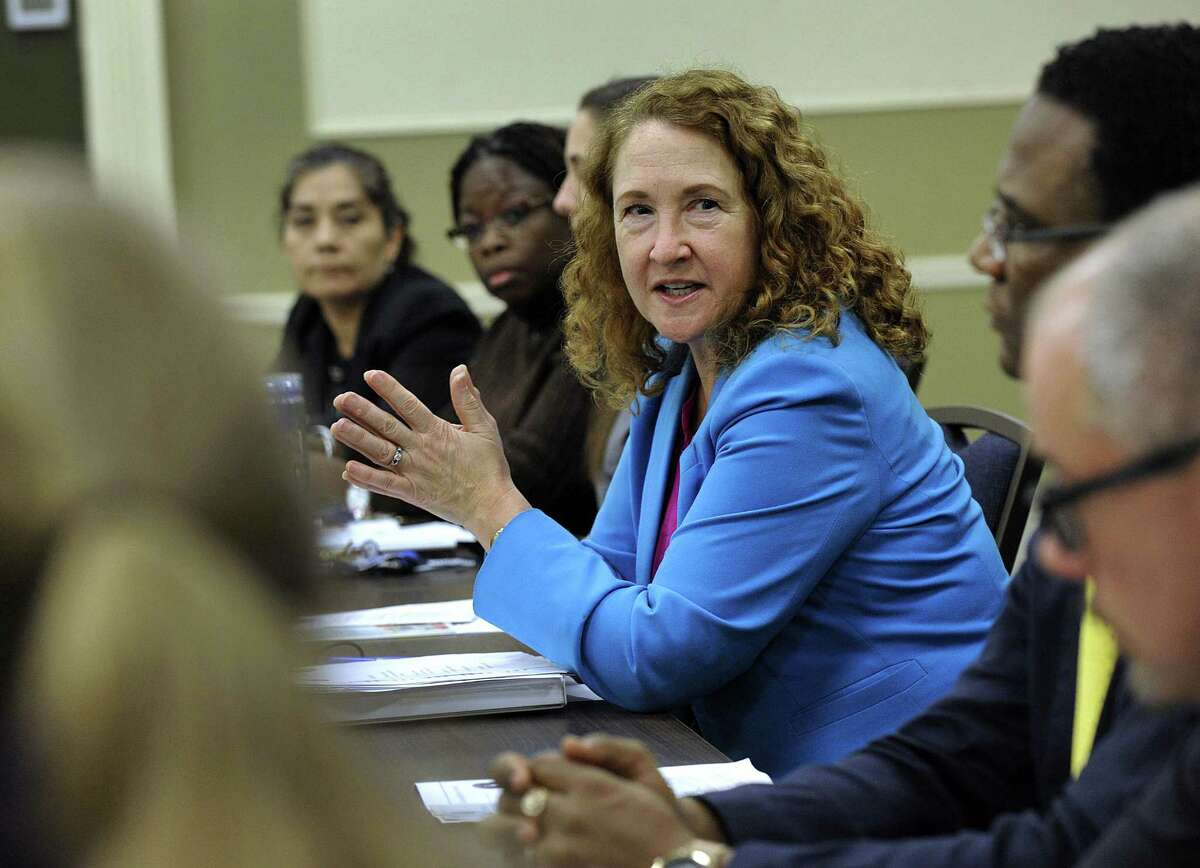 U.S. Rep. Elizabeth Esty during a visit to Western Connecticut State University in January.