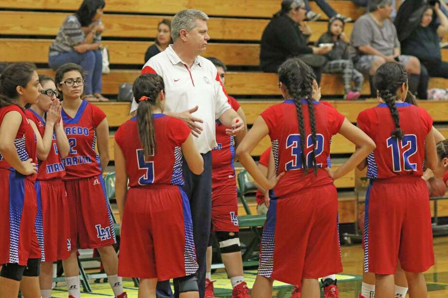 United hired Martin girls' basketball coach Frank Gonzalez to take over the position in 2018-19 after Rachel Carmona stepped down earlier this month. Photo: Courtesy Of Clara Sandoval / Laredo Morning Times File
