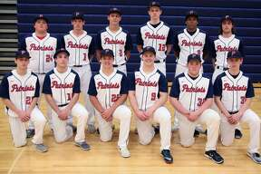 p.p1 {margin: 0.0px 0.0px 0.0px 0.0px; font: 18.0px Helvetica}   Members of the USA varsity baseball team are (front row from left) Vicente Brabo, Jared Lang, Braden Carter, Cooper Kauffold, Nic Lutz and Devin Riskey (back row) Myles Geiger, Tyler Heckroth, Brendan Prime, Isaiah Williamson, Jalen Gangler and Joshua Lang. Missing is Hunter Bohn.