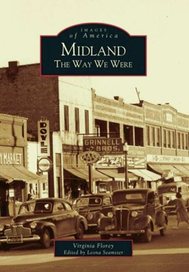 Native Midlanders Virginia Florey and Leona Seamster will speak April 17 about Midland history. (Photo provided) / Arcadia Publishing