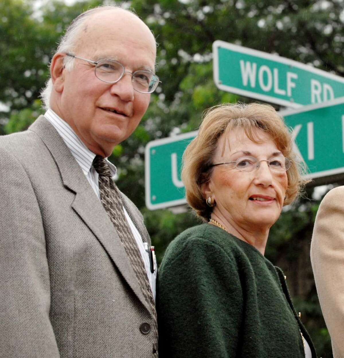 Peter and Jean Platt in 2007. ( Will Waldron / Times Union archive )
