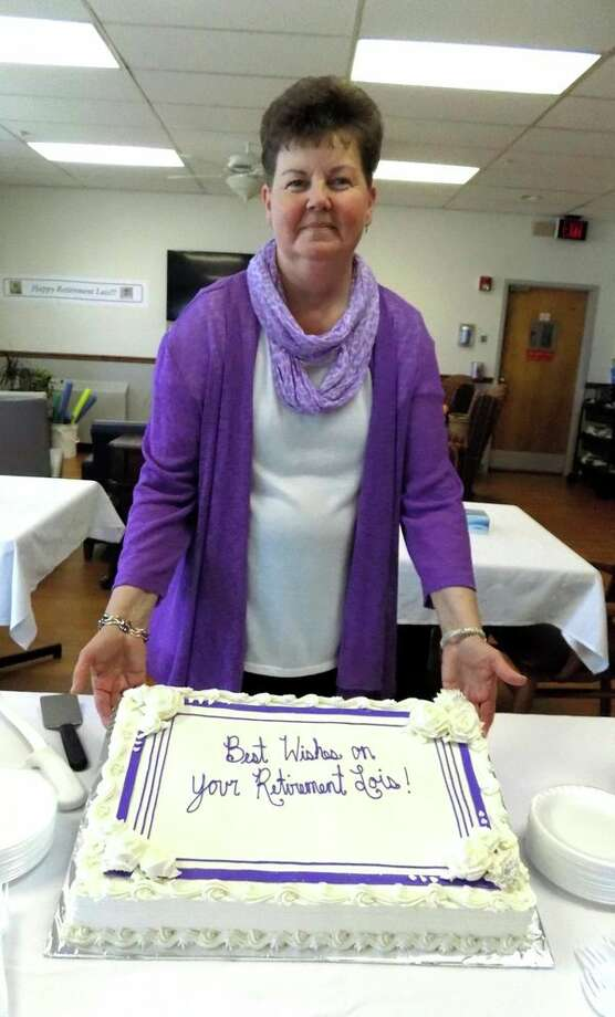 Lois Korbel,a register nurse, recentlyretired from the Harbor Beach Community Hospital after42 years of service.Korbelstarted working at the hospital on Jan. 20, 1976. On April 5, the hospital had cake and punch to celebrate her retirement and wish her well. (Submitted Photo)