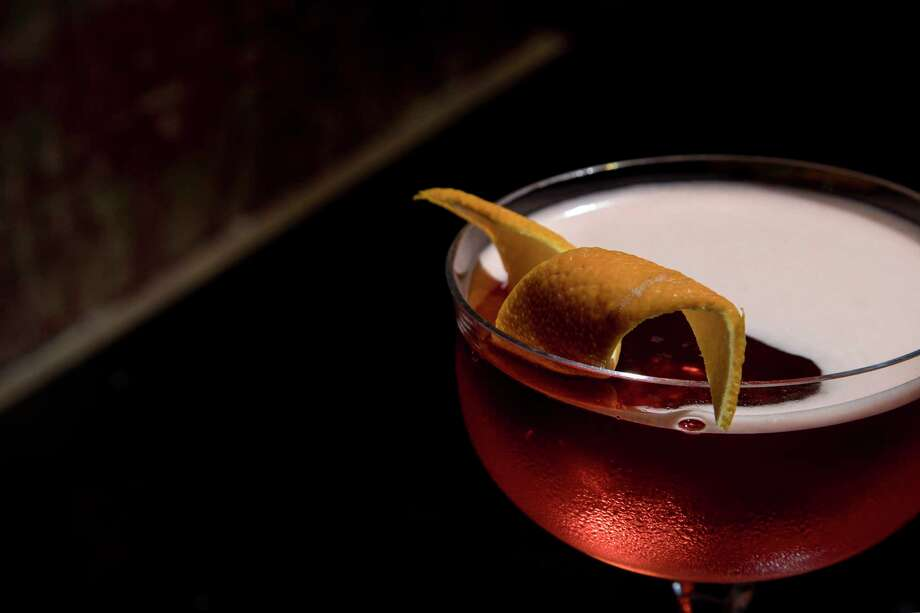 A Coffee Negroni at The Cottonmouth Club, opening April 13 at 108 Main in downtown Houston. Photo: Houston Chronicle / © 2018 Houston Chronicle