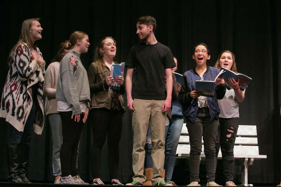 """Haddam-Killingworth High School students will stage the musical """"Bye Bye Birdie"""" May 4-5 at the high school. Photo: Contributed Photos /HKHS / / Steady Photography http://www.steadyphotography.com"""