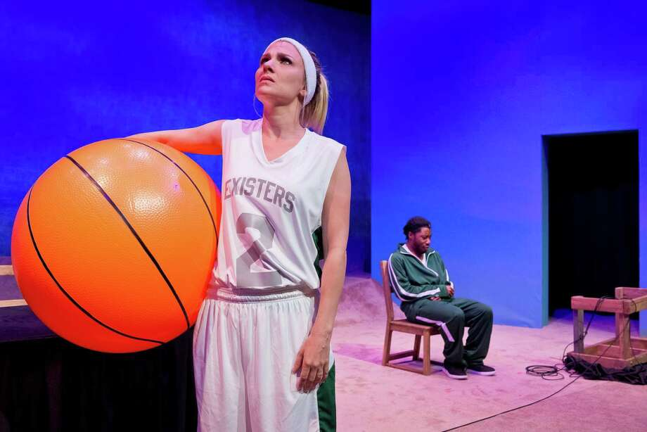 "Daryl Morey's musical ""Small Ball,"" starring Julia Krohn and Orlanders Jones, is playing at the Catastrophic Theatre through May 13 and may offer the deepest insight into the Rockets' general manager.