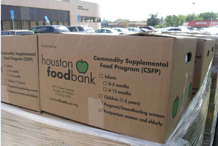 The Houston Food Bank is working to provide more assistance to senior citizens through increased distribution via its Senior Box Program. Photo: Houston Food Bank