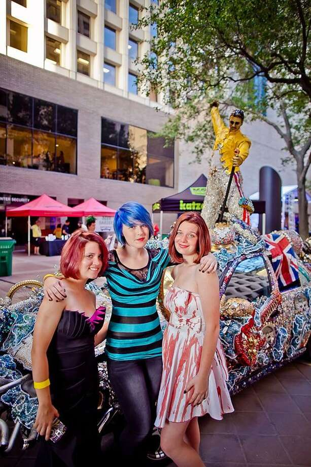 The Houston Art Car Parade celebrations will kick off this Friday with The Legendary Art Car Ball 2018. Photo: Morris Malakoff / Morris Malakoff