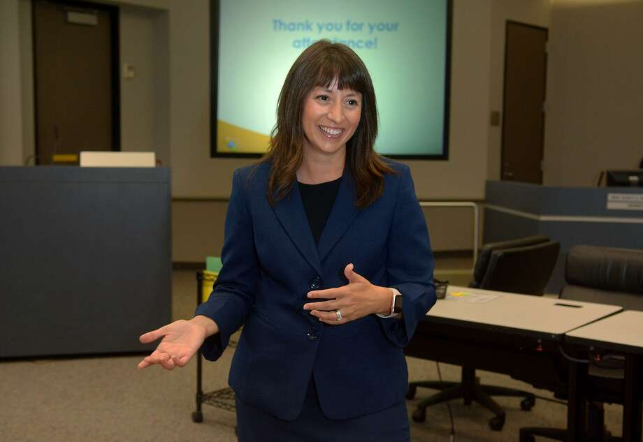 Dr. Elizabeth Fagen is the Humble ISD Superintendent. Photo: Jerry Baker, Freelance / For The Chronicle / Freelance