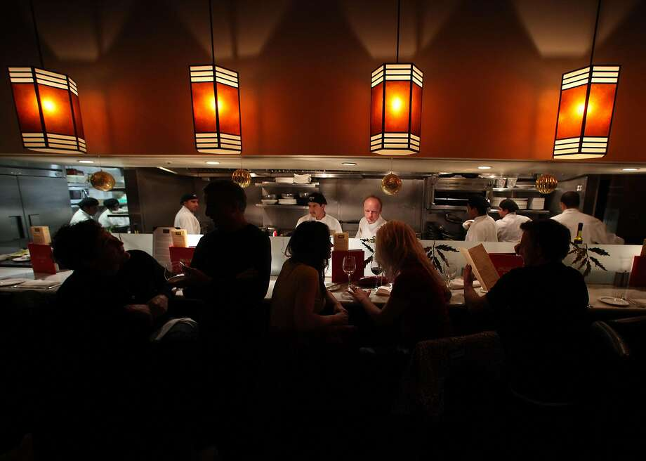 The counter at Bungalow 44 in Mill Valley. Photo: Liz Hafalia / The Chronicle