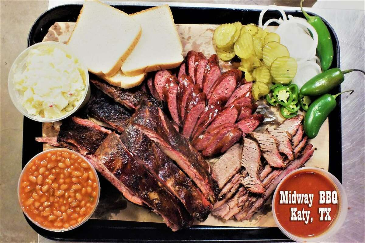 Midway BarbecueWhere: 6025 Hwy Blvd.Phone number: (281) 391-2830Info: Kids eat free on Saturdays, 5-8 p.m. Photo: Midway BBQ./Yelp