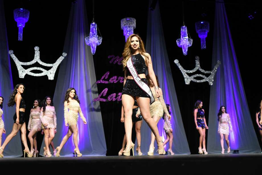 The Miss Laredo Latina Pageant hosts women from Laredo and Zapata. Each woman shows off their elegance in different attire and their outlook for a better world. The pageant ends with the previous queen handing off the crown to their successor, but the smiles can be seen throughout the entire event. Photo: Christian Alejandro Ocampo
