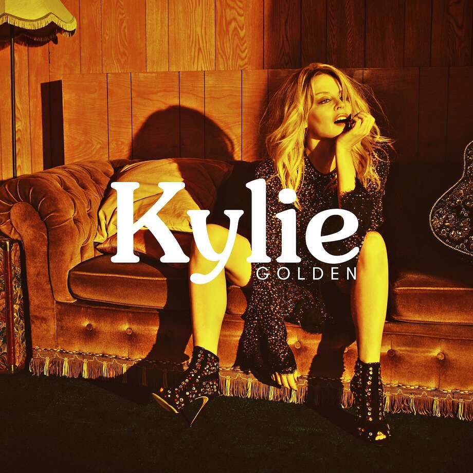 """Golden,"" the latest release by Kylie Minogue. Photo: BMG"