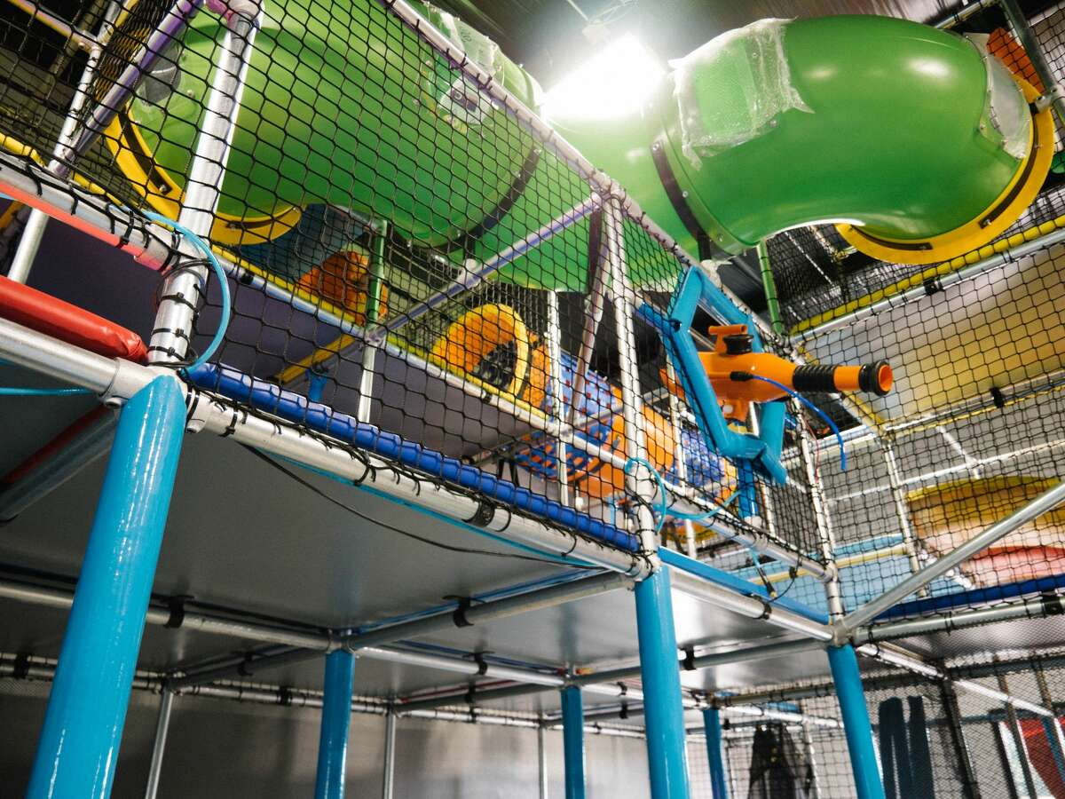 Let the kids run free at Hang Indoor Playground, which opened in May 2018 at 7403 W Loop 1604 N.